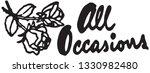 all occasions   retro ad art... | Shutterstock .eps vector #1330982480
