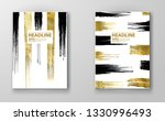 vector black and gold design... | Shutterstock .eps vector #1330996493