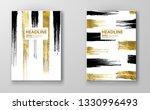 vector black and gold design... | Shutterstock .eps vector #1330996493
