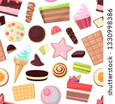 confectionery sweets vector... | Shutterstock .eps vector #1330998386