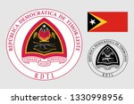 the coat of arms of east timor. ... | Shutterstock .eps vector #1330998956