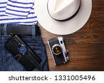 clothes and men's accessories... | Shutterstock . vector #1331005496