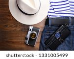 clothes and men's accessories... | Shutterstock . vector #1331005499