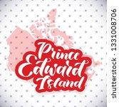 prince edward island. hand... | Shutterstock .eps vector #1331008706