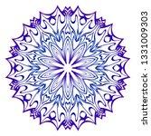 mandala pattern. traditional... | Shutterstock .eps vector #1331009303
