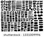 brush strokes bundle. vector... | Shutterstock .eps vector #1331009996