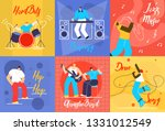 musical performances flat...   Shutterstock .eps vector #1331012549