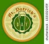 saint patricks day logo round... | Shutterstock .eps vector #1331021459