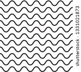 wavy pattern. waves outline... | Shutterstock .eps vector #1331021873