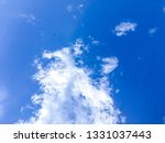 the nature of blue sky with... | Shutterstock . vector #1331037443