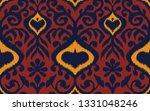 ikat geometric folklore... | Shutterstock .eps vector #1331048246