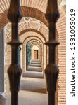 a series of bricked arches seen ... | Shutterstock . vector #1331053019