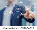 project management tools and... | Shutterstock . vector #1331056016