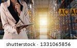 businesswoman manager using...   Shutterstock . vector #1331065856