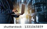 businessman manager using...   Shutterstock . vector #1331065859
