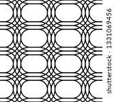 design seamless monochrome grid ... | Shutterstock .eps vector #1331069456