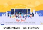 music festival flat vector web...   Shutterstock .eps vector #1331106029