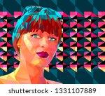 vector illustration in the... | Shutterstock .eps vector #1331107889