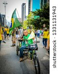 sao paulo  sp  brazil  ... | Shutterstock . vector #1331131943