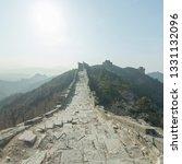 great wall of beijing china   Shutterstock . vector #1331132096