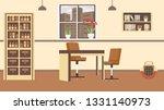 veterinary cabinet interior...   Shutterstock .eps vector #1331140973