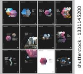 minimal brochure templates with ... | Shutterstock .eps vector #1331145200