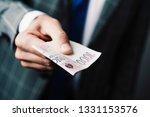 closeup of a young caucasian...   Shutterstock . vector #1331153576