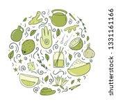 vector illustration with...   Shutterstock .eps vector #1331161166