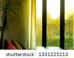the window shines the sunlight | Shutterstock . vector #1331225213