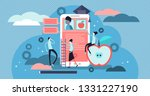 educational app vector... | Shutterstock .eps vector #1331227190