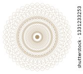 abstract circular pattern | Shutterstock . vector #1331233253