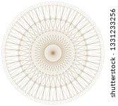 abstract circular pattern | Shutterstock . vector #1331233256