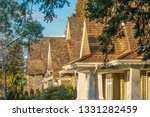 the top of the house or... | Shutterstock . vector #1331282459