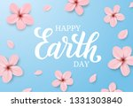 beautiful earth day... | Shutterstock .eps vector #1331303840