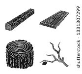 vector design of hardwood  and... | Shutterstock .eps vector #1331307299
