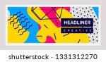 vector creative bright...   Shutterstock .eps vector #1331312270