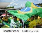 brasilia  df  brazil   april  4 ... | Shutterstock . vector #1331317013