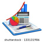 business finance  tax ... | Shutterstock . vector #133131986