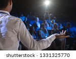 rear view of caucasian... | Shutterstock . vector #1331325770
