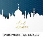 ramadan kareem greeting card... | Shutterstock .eps vector #1331335619