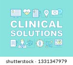 clinical solution word concepts ...