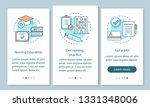 become nurse onboarding mobile... | Shutterstock .eps vector #1331348006