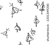 Seamless Hand Painted Pattern...