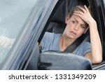 Impatient Female Car Driver...