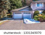 fragment of luxury house with... | Shutterstock . vector #1331365070