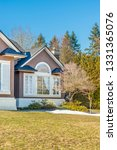fragment of luxury house with... | Shutterstock . vector #1331365076