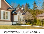 fragment of luxury house with... | Shutterstock . vector #1331365079