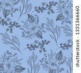 floral spring background   Shutterstock .eps vector #1331366660