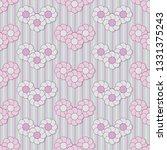 vector seamless floral patterns ...   Shutterstock .eps vector #1331375243