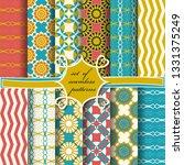 set of seamless abstract vector ...   Shutterstock .eps vector #1331375249